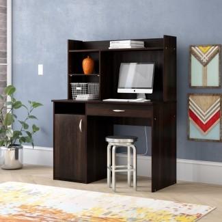 Ryker Computer Desk con Hutch