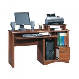 "Sauder 101730 Camden County Computer Desk, L: 53.54 ""x W: 20.28"" x H: 34.57 "", acabado en tablones Cherry"