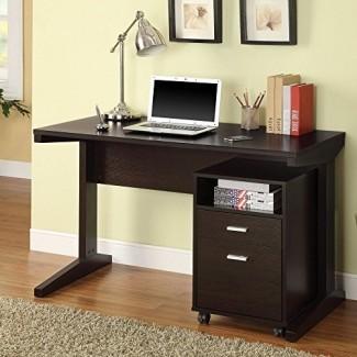Coaster Furniture Juego de 2 piezas para escritorio y archivador
