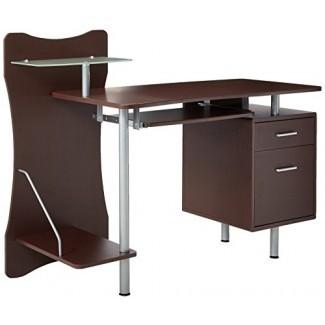 Techni Mobili RTA-325 Chocolate Computer Desk