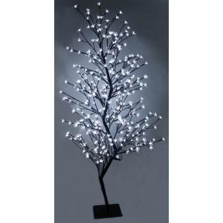 Luces de red de árbol 336 de doble color para exteriores