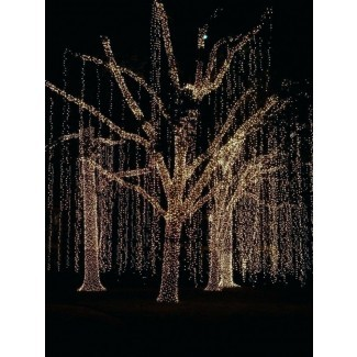 Luces solares LED para árboles Luces solares al aire libre para árboles A
