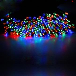 luces LED de cadena de energía solar con encanto Boda de fiesta de Navidad ...
