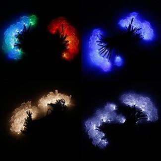 LED Lights String Outdoor Lights Solar String Large ...