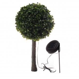 Jardín solar al aire libre 10 LED Decorativo para el árbol ...