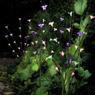 Al aire libre con estilo Ornamental Branch Tree Solar Garden Led ...