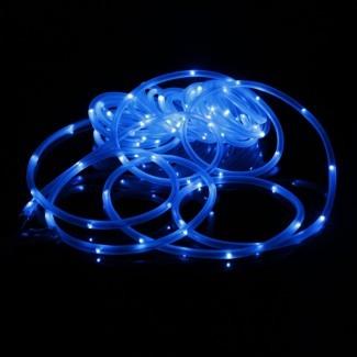 50/100 LED Luces de cuerda de hadas solares Cuerda de tubo al aire libre ...