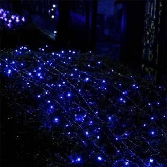 22m 200 LED Luces de hadas solares String Trees Chris tmas ...