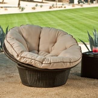 Cojines de silla de mimbre Pier One - Ideas para muebles