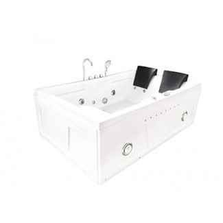 Esquina de hidroterapia de hidromasaje bañera bañera de hidromasaje 2 dos personas YELLOWSTONE