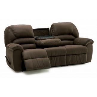 Sofá reclinable informal Palliser Taurus con caída central ...