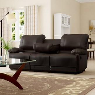 Sofá reclinable doble Edgar