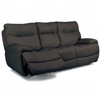 Flexsteel Latitudes - Sofá reclinable eléctrico Evian con pliegue ...