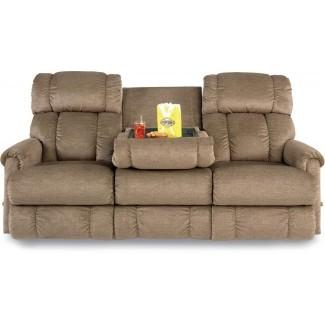 Sofá con consola Best Sofá reclinable doble con consola ...
