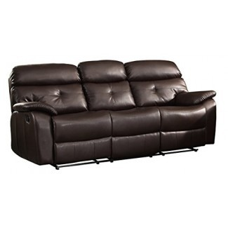 Homelegance 8539-3 Sofá doble reclinable con pliegue ...