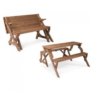 Mesa y banco plegables de picnic para la temporada de ocio y comentarios ...