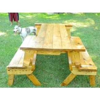 Inspiración Cómo construir una mesa de picnic plegable 83 para