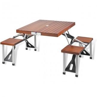 planos de banco plegables de mesa de picnic - Mesa de picnic plegable ...