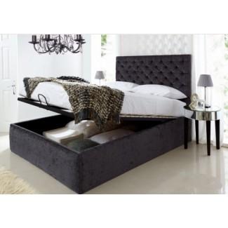 6 marcos de cama King Size oscuros para su dormitorio -