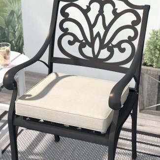 Cojín cuadrado para silla de comedor para exteriores Searcy FadeSafe ™