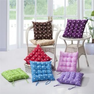Cojines para sillas de cocina con lazos | HomesFeed