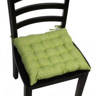 Almohadillas para silla Dream Home de 4 piezas Asiento con cojín cuadrado ...