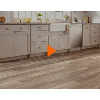 Pisos de vinilo y pisos resilientes - The Home Depot