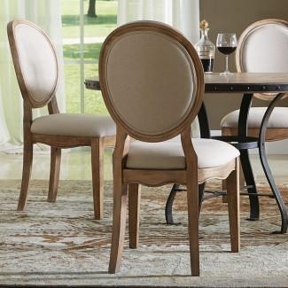 Sillas de comedor con respaldo redondo Fundas para sillas de comedor con respaldo redondo Uk