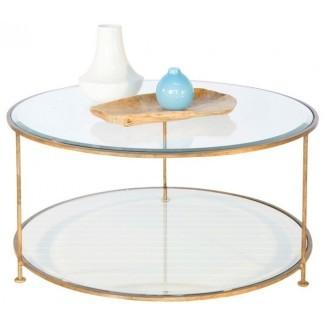 50 inspiraciones Mesas de café circulares de vidrio | Coffee ...