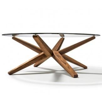50 Inspirations Mesas de centro circulares de vidrio | Coffee ...