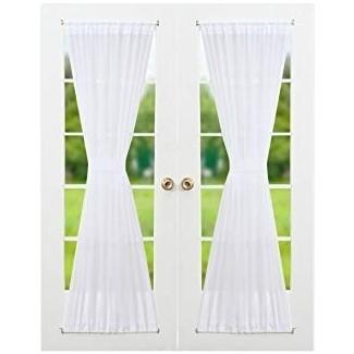 barras de cortina puertas francesas   Cortina