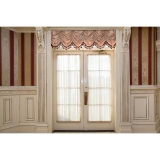 barras de cortinas de puertas francesas - cortinas de puertas francesas con ...