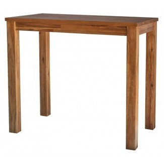 Mesa de comedor de madera maciza Yokum