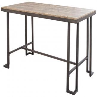 Mesa de comedor de altura de mostrador Calistoga