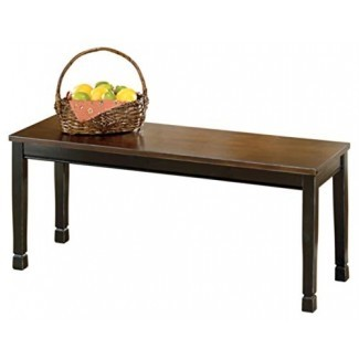 Diseño exclusivo de Ashley Furniture - Banco de comedor grande Whitesburg - Rectangular - Casual vintage