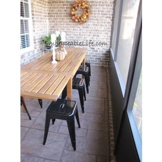 Mesa: mesas de comedor estrechas para muebles de comedor acogedores ...