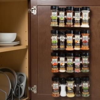 Organizador 20 Jar Spice Jar y Rack Set