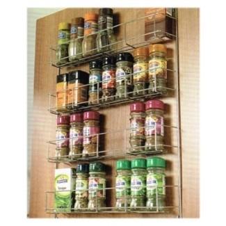 Estante de especias WWSR, cuatro niveles para puertas de cocina 500 mm ...