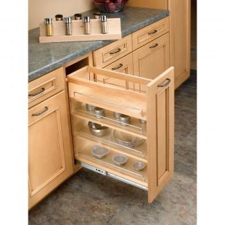 Inserte el estante de especias