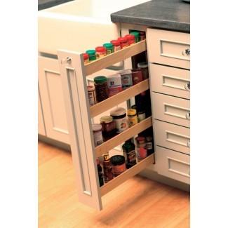 Artwood Cabinets | Bastidores de especias extraíbles