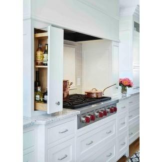 Cocción de alcoba con estantes extraíbles para especias - Transicional ...