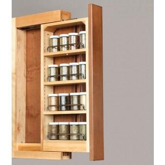 Estantes desplegables y estantes extraíbles | Gabinetes a medida