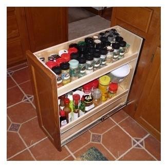 armario de especias estrecho | Decoración del hogar