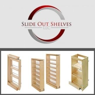 Saque el estante de especias para los gabinetes superiores