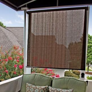 Sombras: sorprendentes cortinas para exteriores para enrollar patios ...