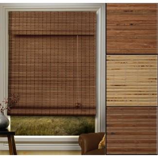 Persianas: interesantes persianas enrollables de bambú blanco Bambú ...