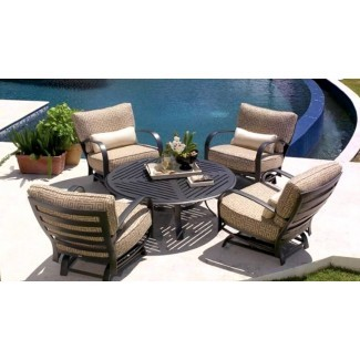 Diseño exterior: muebles de exterior Hampton Bay con cuatro ...