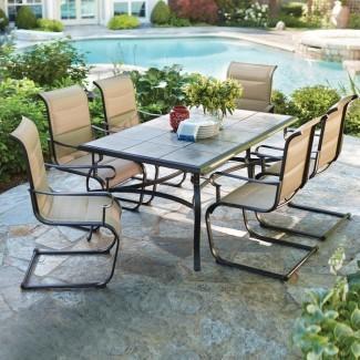 Hampton Bay Belleville 7 piezas de comedor acolchado para exteriores ... [19659010] Hampton Bay Belleville 7-Piece acolchado honda comedor al aire libre ... </div> </p></div> <div class=
