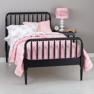 Jenny Lind Kids Bed (Negro) | The Land of Nod