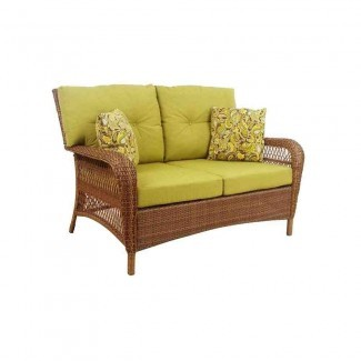 Muebles de patio de mimbre Martha Stewart - Ideas de decoración Ideas de decoración